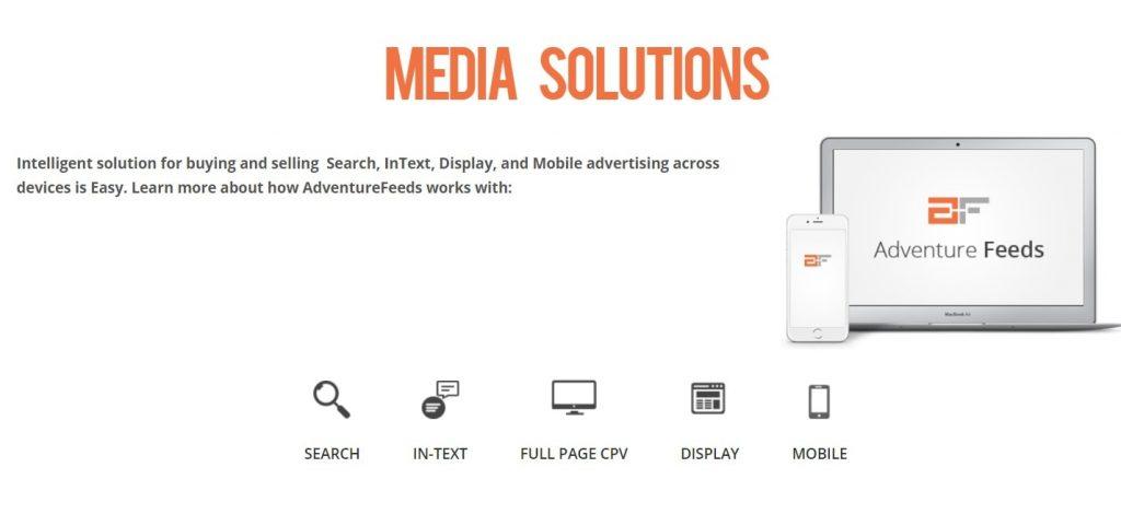 AdventureFeeds media solutions