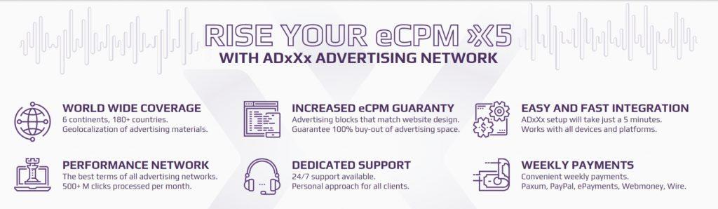 AdxXx advantages