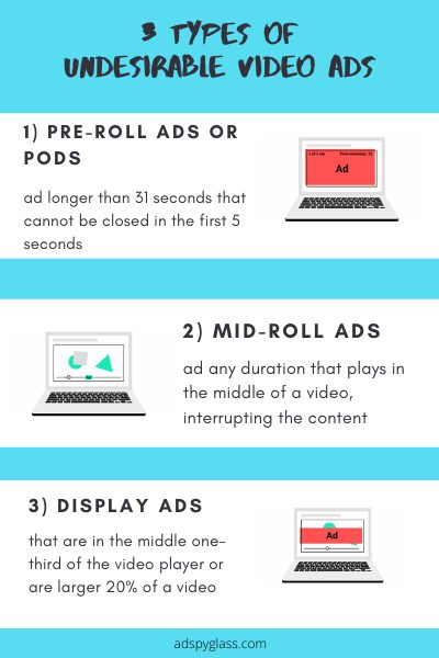 3 types of intrusive video ads