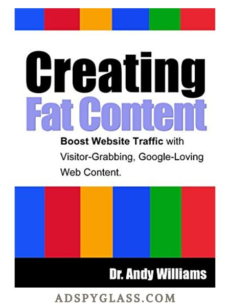 Creating Fat Content by Dr. Andy Williams