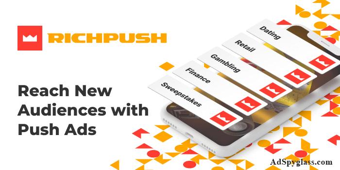 RichPush ad network