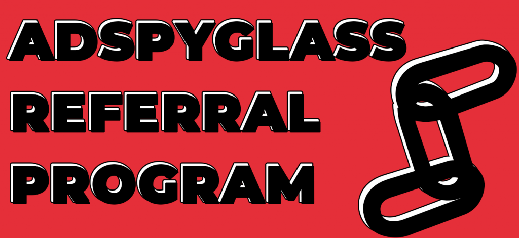 As a final accord, there is another thing that we'd like you to know. Ultimate AdSpyglass Referral Program.