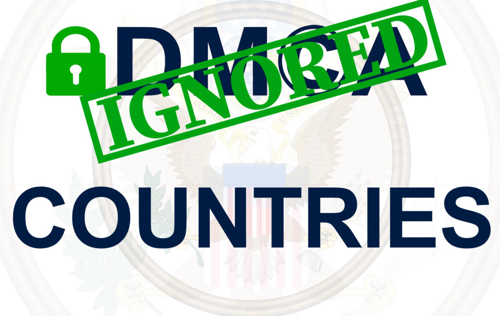 There is one more useful trick you can consider while avoiding DMCA notice. Some tolerant countries are safe to host your website. Here is the list: