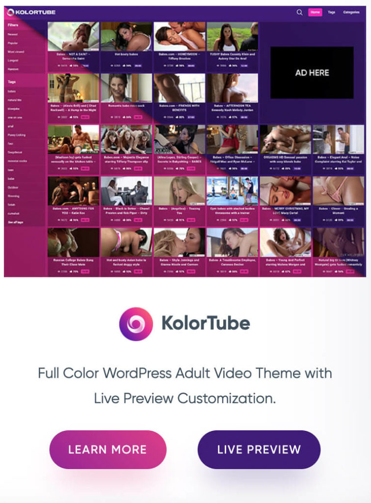 As defined in its name, KolorTube is especially appealing by its colorful and energetic design.