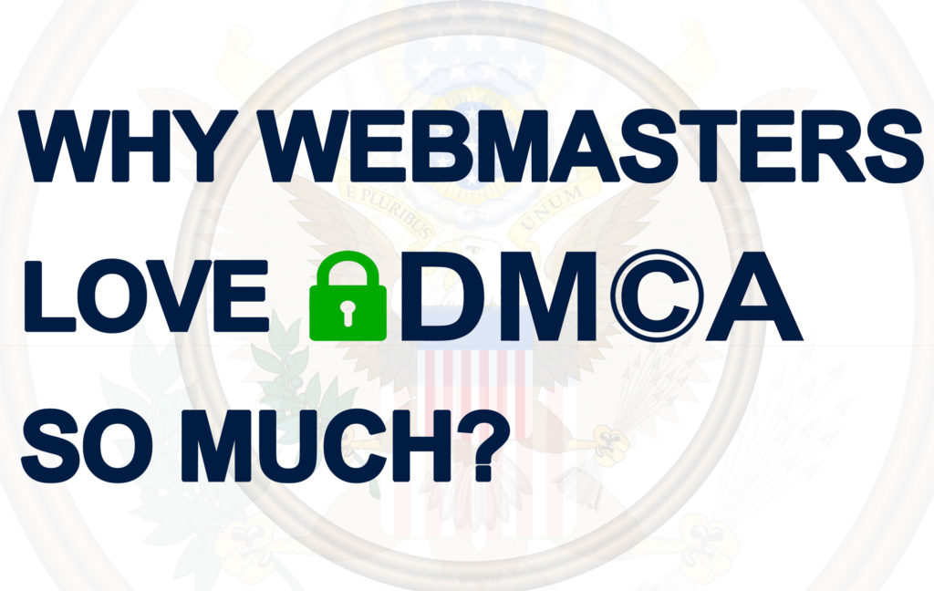 No matter how noble the mission of the DMCA may sound, it still hides pitfalls. Instead of preventing piracy it just blocks free expression. Let's refute DMCA's influence on webmasters.