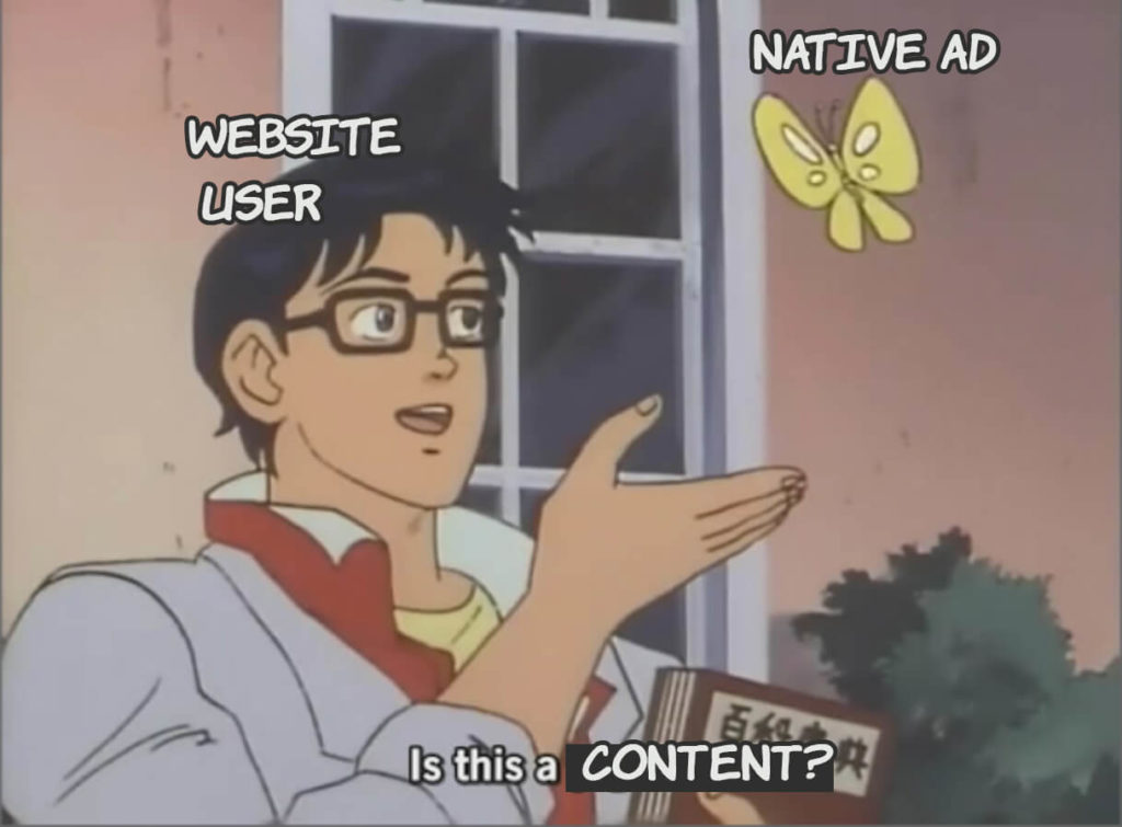 You can present your native advertisement in many different forms to make it naturally integrate within the site content. AdSpyglass is one of the most popular and credible tools that help webmasters increase their earnings using native ads. We want you to get acquainted with the four most popular native ads types: