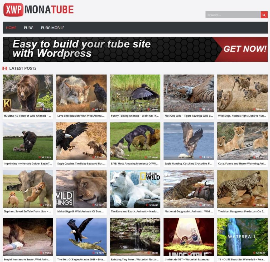 Presented in a sleek layout, MonaTube was created for adult or mainstream tube sites as it integrates with YouTube, RedTube, PornHub, XHamster, and other video resources.