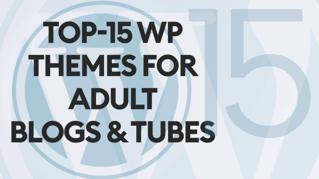 Top 15 WordPress Themes For Adult Blogs and Tubes