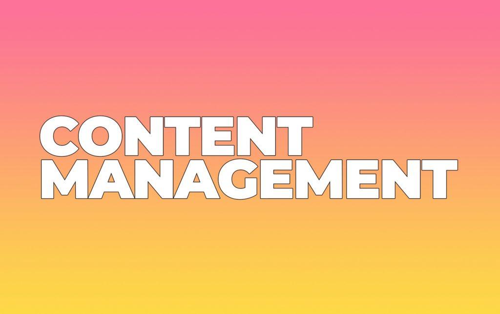 Content Management Tools & Services