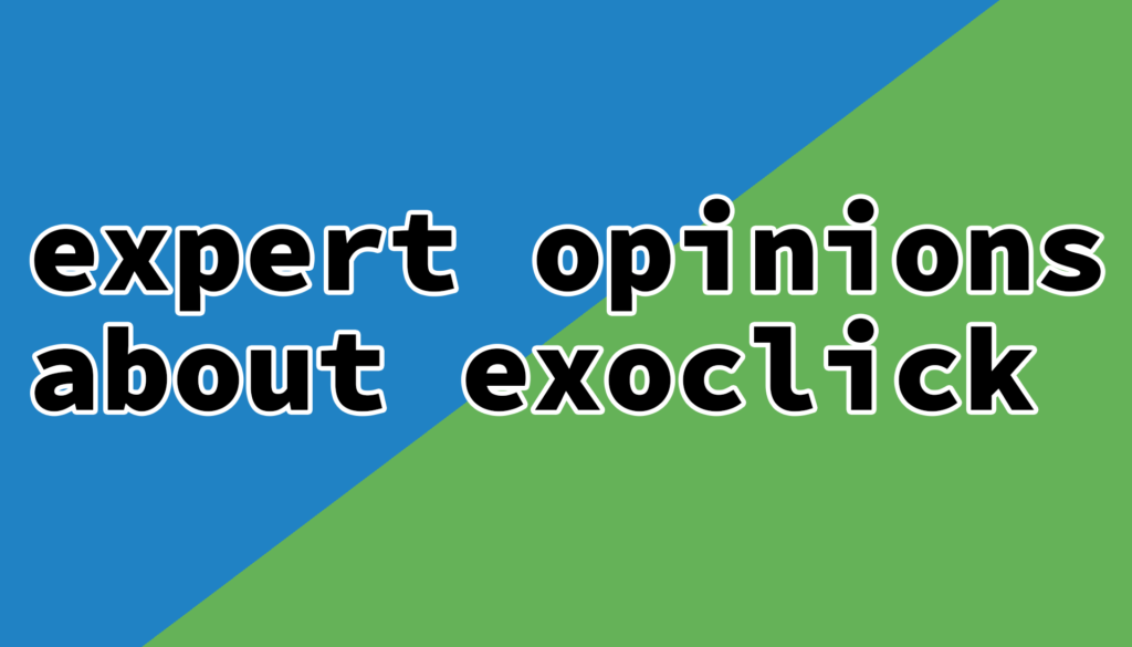 What experts say about the best Exoclick alternatives