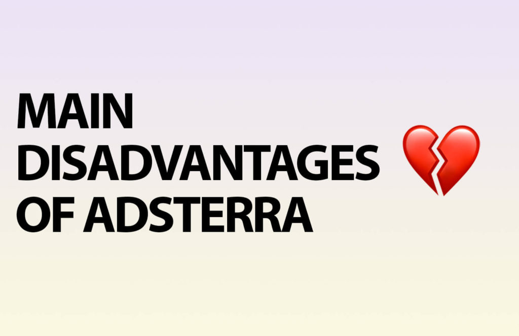 What Are the Pitfalls of Adsterra?